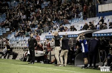 Láinez en el partido contra el Mallorca. Foto: Javier Gimeno (VAVEL)