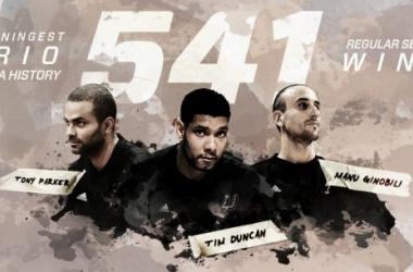 Duncan, Ginóbili y Parker, el trío más ganador