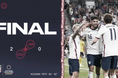 Con doblete de Pepi, Estados Unidos es el nuevo líder del octogonal final de la CONCACAF | Fotografía: U.S.Soccer