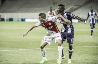 A pensar na «Champions», Mónaco perde terreno diante do Toulouse