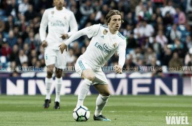 Luka Modric en un partido con el Real Madrid I Foto: Daniel Nieto (VAVEL)