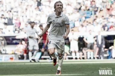 Modric con el Real Madrid | Fuente: Daniel Nieto