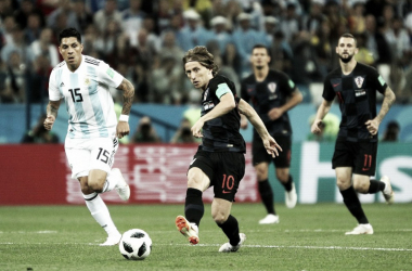 Paliza táctica del seleccionado croata.