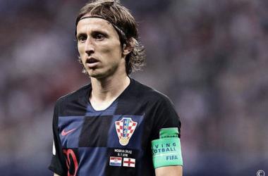 Luka Modric. Fuente: Real Madrid.