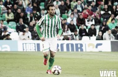 Molinero en un partido con el Betis. // Foto: Juan Ign. Lechuga-VAVEL