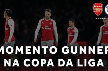 Na contramão de uma temporada fraca, Arsenal cresce dentro da Copa da Liga e chega à final