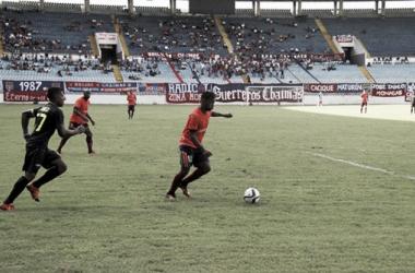 Monagas SC vs Deportivo Táchira. Fotografía: Prensa MSC.