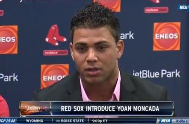 Red Sox Introduce Cuban Signee Yoan Moncada