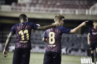 El Barça B ya conoce los próximos horarios ligueros. FOTO:Noelia Déniz