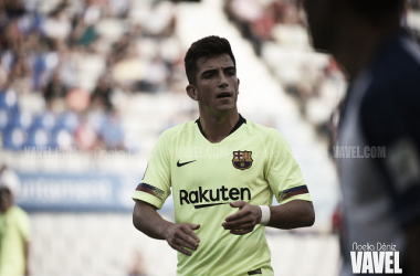 Monchu, autor del gol de la victoria culá. FOTO: Noelia Déniz