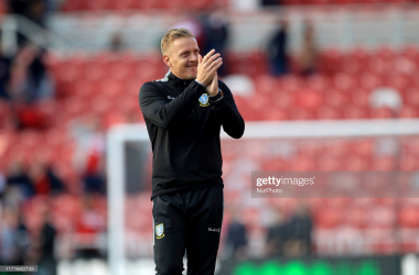 Sheffield Wedensday manager Garry Monk during the Sky Bet Championship match between Middlesbrough and Sheffield Wednesday at the Riverside Stadium, Middlesbrough on Saturday 28th September 2019. (Photo by Mark Fletcher/MI News/NurPhoto via Getty Images)