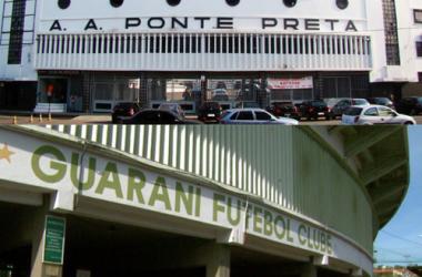 Em situações opostas, Ponte e Guarani decidem destino dos estádios