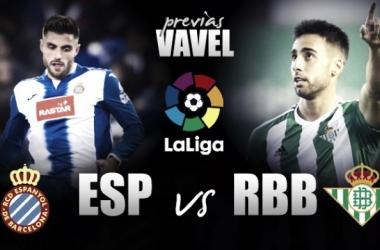 Previa RCD Espanyol - Real Betis: solo vale el diálogo de los tres puntos. Montaje : VAVEL