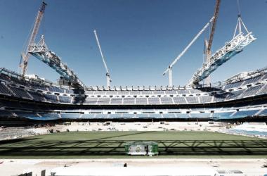 Obras en el Bernabéu. Fuente: Real Madrid