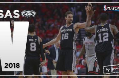 Los Spurs buscarán el batacazo ante los Golden State Warriors | Montaje: Alvaro García (VAVEL)