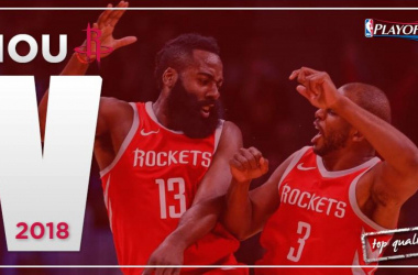 Los Rockets este año esperan dar mucho de que hablar en playoffs. | Montaje: Álvaro García (VAVEL)