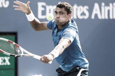 Thiago Monteiro perdeu para Laslo Djere no ATP 250 de Genebra 2021 (ATP / Divulgação)