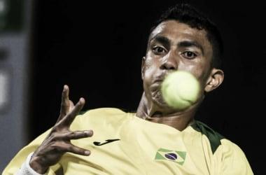 Monteiro decepciona e Brasil é eliminado pela Colômbia na Copa Davis (Foto: AFP)