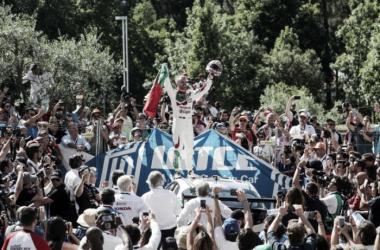 El portugués gano la carrera principal en un Autódromo de Vila Real colmado de gente. Foto: FIAWTCC
