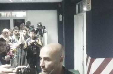 Montero se retiró conforme con el rendimiento del equipo(Fuente: Franco Marro)