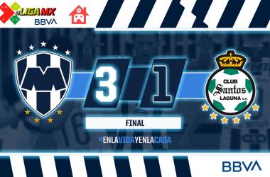 Rayados vuelve a ganar bajo el comando de Eric Cantú