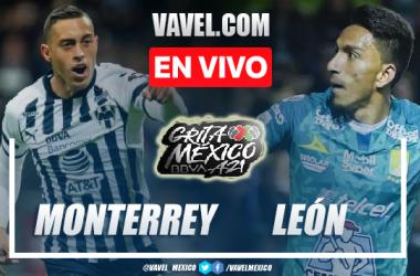Goles y Resumen del Rayados 0-1 León en el Apertura 2021 de la Liga MX
