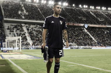 BAJA IMPORTANTE. Montiel(29) es una pérdida sensible para el equipo de Marcelo Gallardo. Foto: Twitter River Plate