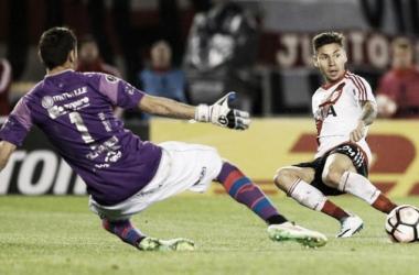 Montiel jugó ante Wilstermann (Foto: Diario Popular).