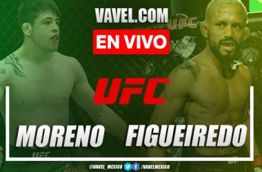 Resumen y mejores momentos de la victoria de Brandon Moreno sobre Figueiredo en UFC 263