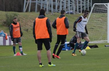 Del Moral vuelve al grupo y mejoran Tiba y Marcelo Silva