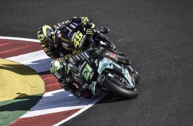 """Graziano Rossi: """"Vale querrá ser tan rápido como Morbidelli"""""""
