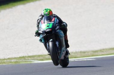 Franco Morbidelli termina la primera mitad de la temporada en la onceava posición l Fotografía: Yamaha Moto GP
