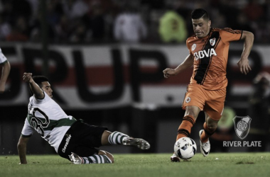 Jorge Moreira en el partido de ayer por la tarde ante Banfield (foto: River Plate Oficial)
