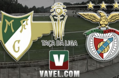 Resultado Moreirense - Benfica en la Taça da Liga 2015 (0-2)