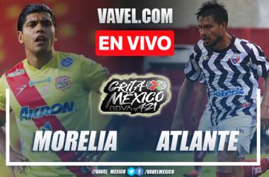 Gol y resumen del Atlético Morelia 1-0 Atlante en Liga de Expansión MX