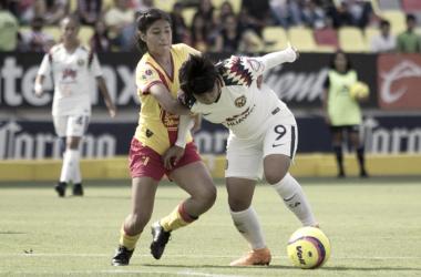 (Club América femenil vs Monarcas Femenil | Foto: Liga Bancomer Mx)
