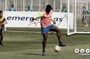 Último entrenamiento de Godoy Cruz antes de emprender viaje a Buenos Aire. Foto: Prensa Oficial club Godoy Cruz