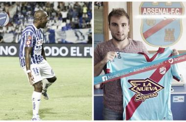 Duelo de atacantes: García vs. Barbieri. FOTO: Web.