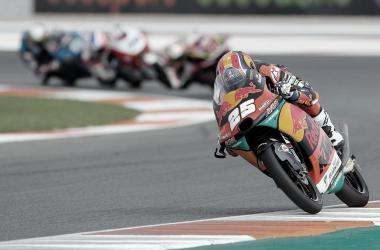 Carrera Moto3 en el GP de Europa, el pasado fin de semana. Foto: motogp.com