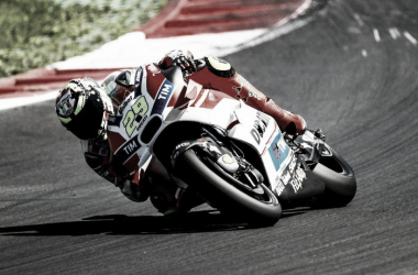 Iannone is currently the fastest man at the Austrian GP | Photo: www.motogp-live.com