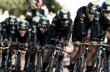 Vuelta a España Stage One: Movistar get off to a fast start