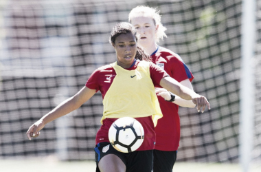 Margaret Purce will be unavailable for the USWNT due to injury | Source: ussoccer.com