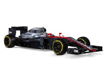 O novo MP4-30 foi esta manhã apresentado pela McLaren-Honda (Foto: McLaren-Honda)