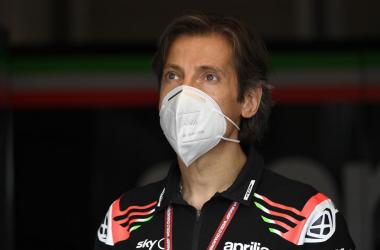 Massimo Rivola, CEO Aprilia Racing Team Gresisni. | FOTO: motogp.com