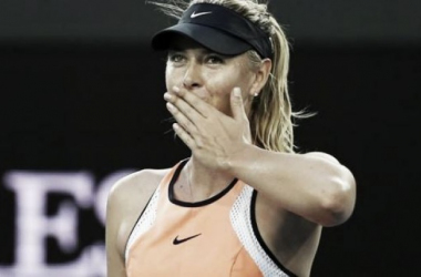 Maria Sharapova is looking to win her first slam since Roland Garros 2014 (pic source: ES)