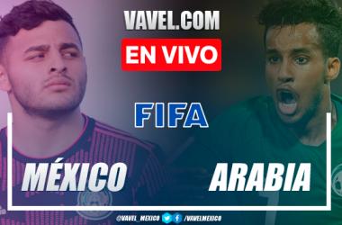 Resumen y goles: México 1-1 Arabia Saudita en partido amistoso rumbo a los Juegos Olímpicos