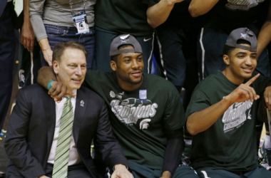 Last season, the Spartans took home the Big Ten tournament championship with a win over the Michigan Wolverines. (Source: Brian Spurlock - USA Today Sports)