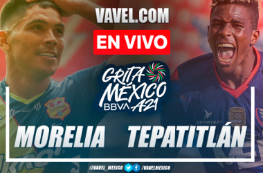 Resumen y goles: Atlético Morelia 2-2 Tepatitlán FC por Liga Expansión MX