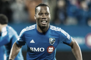 Didier Drogba will be looking to score his second goal of the season on Saturday against the Colorado Rapids at Stade Saputo. (Photo provided by Canadian Press)