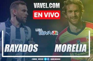 Resumen y goles: Rayados Monterrey 2-2 Monarcas Morelia en Liga MX Clausura 2020